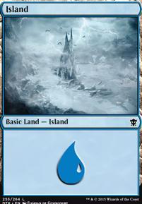 Dragons of Tarkir: Island (253 A)