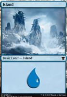 Dragons of Tarkir: Island (254 B)
