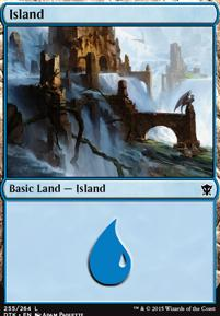 Dragons of Tarkir: Island (255 C)