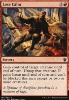 Dragons of Tarkir Foil: Lose Calm