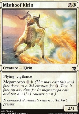 Dragons of Tarkir: Misthoof Kirin