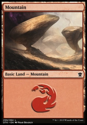 Dragons of Tarkir: Mountain (259 A)