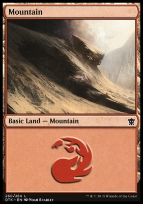 Dragons of Tarkir: Mountain (260 B)