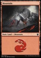 Dragons of Tarkir: Mountain (261 C)