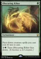 Dragons of Tarkir: Obscuring Aether