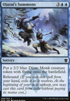 Dragons of Tarkir Foil: Ojutai's Summons