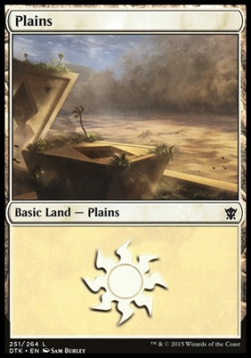 Dragons of Tarkir: Plains (251 B)