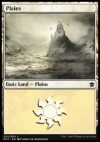 Dragons of Tarkir: Plains (252 C)