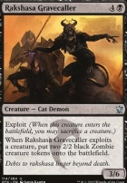 Dragons of Tarkir: Rakshasa Gravecaller