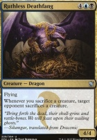 Dragons of Tarkir Foil: Ruthless Deathfang