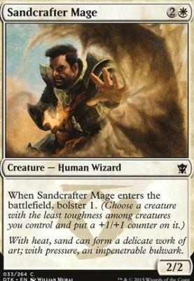 Dragons of Tarkir Foil: Sandcrafter Mage