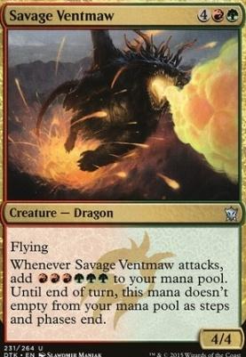Dragons of Tarkir: Savage Ventmaw