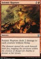 Dragons of Tarkir: Seismic Rupture