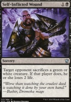 Dragons of Tarkir: Self-Inflicted Wound