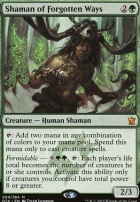 Dragons of Tarkir: Shaman of Forgotten Ways