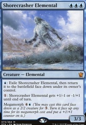 Dragons of Tarkir Foil: Shorecrasher Elemental