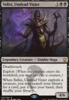 Dragons of Tarkir Foil: Sidisi, Undead Vizier