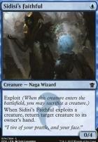 Dragons of Tarkir Foil: Sidisi's Faithful