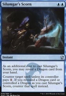Dragons of Tarkir: Silumgar's Scorn