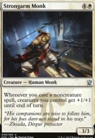 Dragons of Tarkir Foil: Strongarm Monk