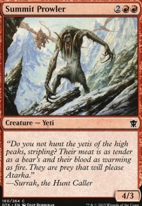 Dragons of Tarkir: Summit Prowler