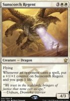 Dragons of Tarkir: Sunscorch Regent