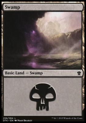 Dragons of Tarkir: Swamp (256 A)