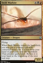 Dragons of Tarkir Foil: Swift Warkite