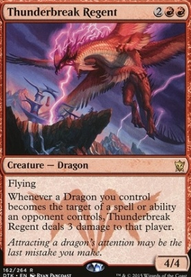Dragons of Tarkir: Thunderbreak Regent