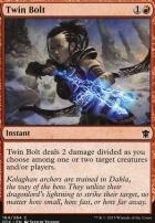 Dragons of Tarkir Foil: Twin Bolt