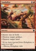 Dragons of Tarkir Foil: Vandalize