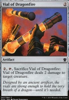 Dragons of Tarkir: Vial of Dragonfire