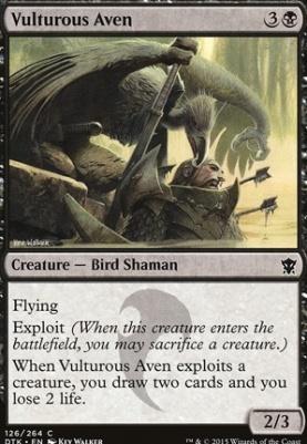 Dragons of Tarkir Foil: Vulturous Aven