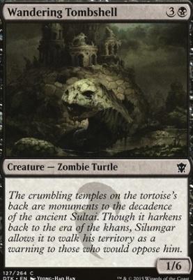Dragons of Tarkir: Wandering Tombshell