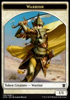Dragons of Tarkir: Warrior Token