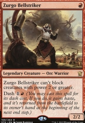 Dragons of Tarkir: Zurgo Bellstriker