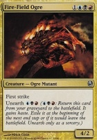 Duel Decks: Ajani Vs. Nicol Bolas: Fire-Field Ogre