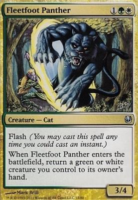Duel Decks: Ajani Vs. Nicol Bolas: Fleetfoot Panther