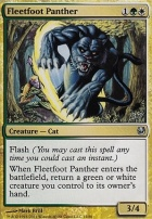 Duel Decks: Ajani Vs. Nicol Bolas: Fleetfoot Panther