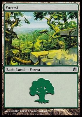 Duel Decks: Ajani Vs. Nicol Bolas: Forest (38 A)