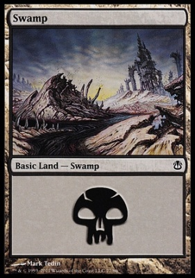 Duel Decks: Ajani Vs. Nicol Bolas: Swamp (77 A)