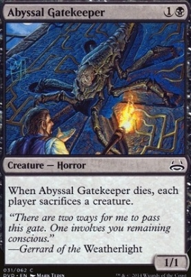Duel Decks: Anthology: Abyssal Gatekeeper (Divine vs Demonic)