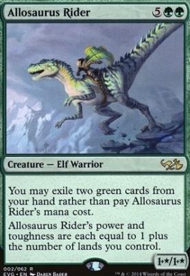 Duel Decks: Anthology: Allosaurus Rider (Elves vs Goblins)