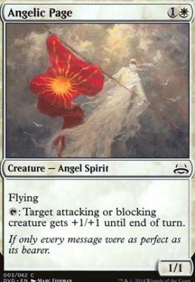 Duel Decks: Anthology: Angelic Page (Divine vs Demonic)