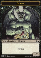 Duel Decks: Anthology: Demon Token (Divine vs Demonic)