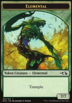 Duel Decks: Anthology: Elemental Token (Elves vs Goblins)