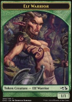 Duel Decks: Anthology: Elf Warrior Token (Elves vs Goblins)