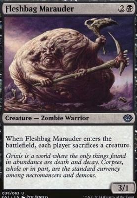 Duel Decks: Anthology: Fleshbag Marauder (Garruk vs Liliana)