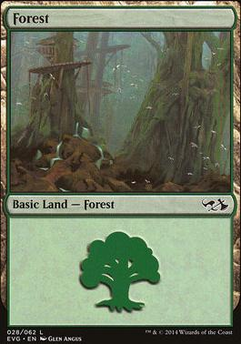Duel Decks: Anthology: Forest (Elves vs Goblins 28 A)
