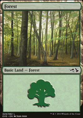 Duel Decks: Anthology: Forest (Elves vs Goblins 29 B)